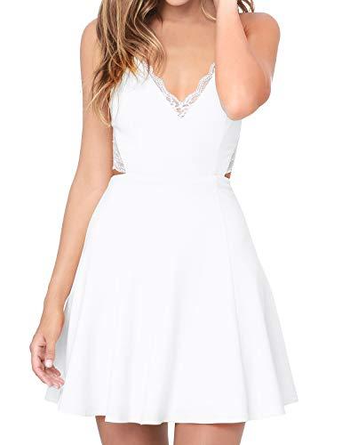 Top 9 Minikleid mit Spitze - Damen-Kleider - Onderter